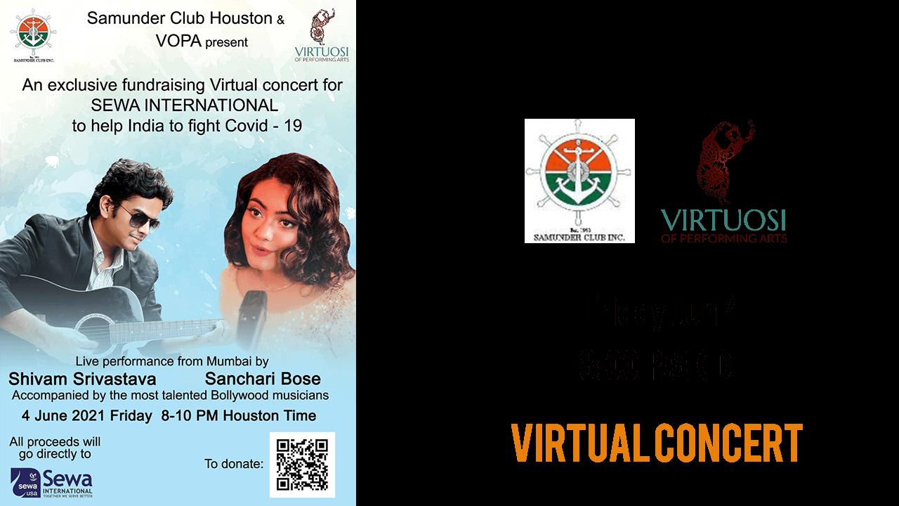 Samunder Club Houston Virtual Concert